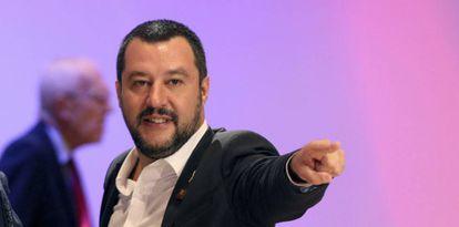 Matteo Salvini, vice primeiro-ministro da Itália, em setembro em Viena.