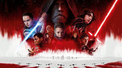 As novas gerações e as veteranas em 'Os Últimos Jedi'.