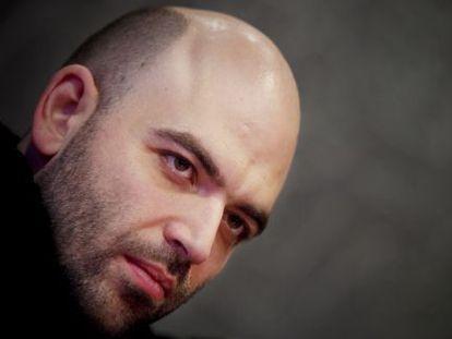 O escritor Roberto Saviano.