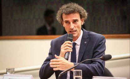 Emanuel Rego, campeão olímpico e secretário Nacional de Esportes de Alto Rendimento.