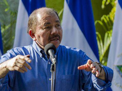 O presidente da Nicarágua, Daniel Ortega.