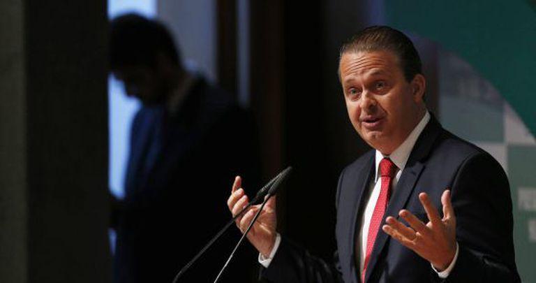 Eduardo Campos, em foto do último dia 6 de agosto.