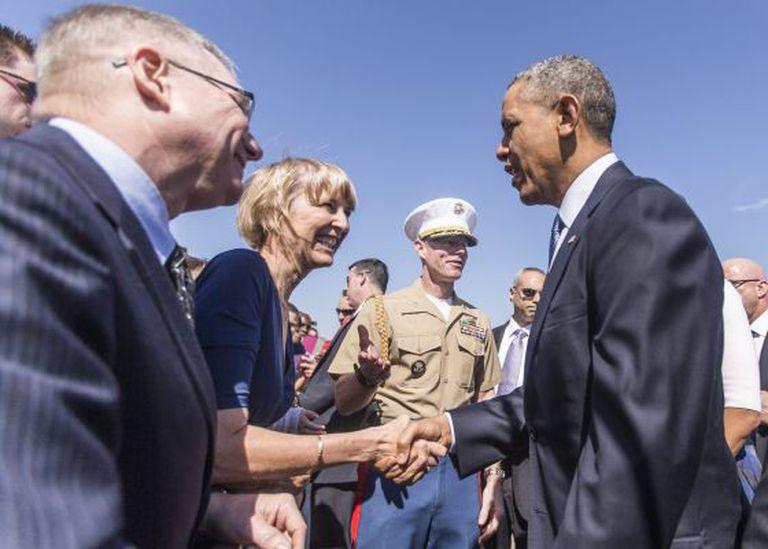 Obama em homenagem a defensores de direitos civis.