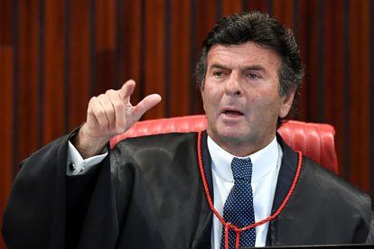 O presidente do Supremo, Luiz Fux.
