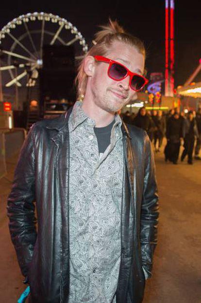 Macaulay CUlkin em 2013 em Paris. Em 2018 mudou-se para a capital francesa.