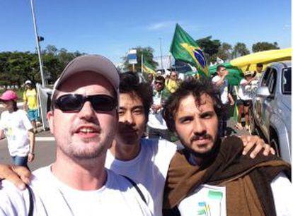 Fabio Ostermann, Kim Kataguiri e, Gabriel Calamari, do MBL