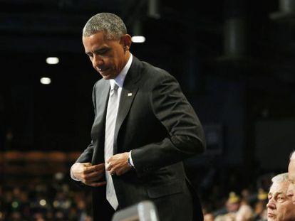 O presidente Barack Obama.