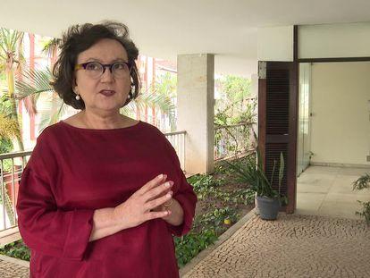 A pesquisadora da Fiocruz Margareth Dalcolmo, que fala sobre o novo coronavírus.