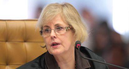 A ministra Rosa Weber, do Supremo Tribunal Federal.