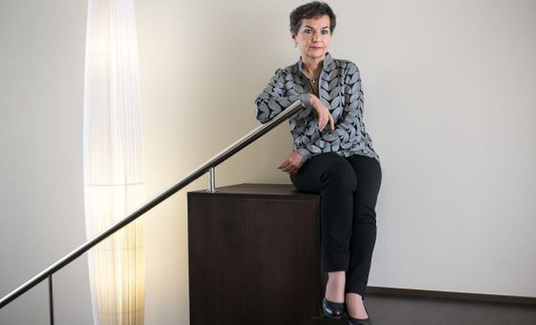 Christiana Figueres, responsável pela área de mudança climática da ONU.