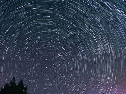 Perseidas 2016: chuva de meteoros sobre o Teide