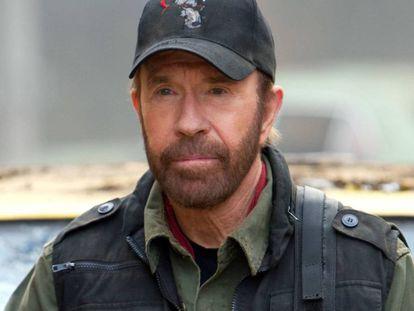 Chuck Norris, em uma imagem de 2012.