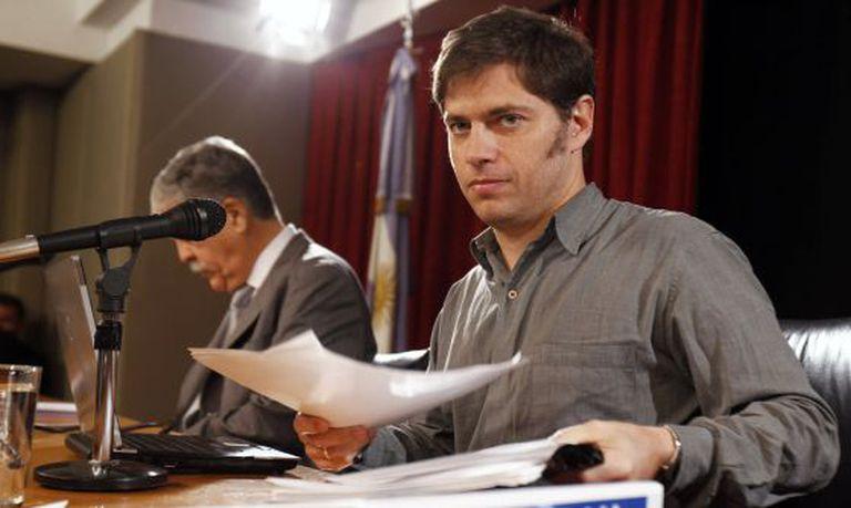 Axel Kicillof, ministro de Economia da Argentina.