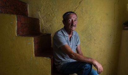Irineu Herreira, que ficou internado em uma comunidade terapêutica.