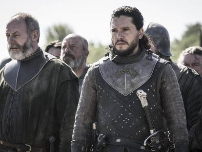 Kit Harington, no papel de Jon Snow em 'Game of Thrones'.