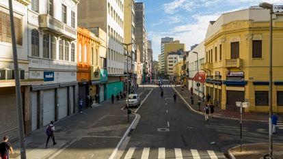 Rua 25 de Março, no centro de São Paulo, no dia 15 de março.