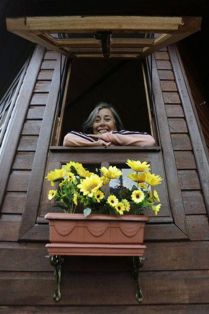 A professora aposentada Mônica Tavares, de 62 anos, se mudou para Nova Petrópolis em busca de tranquilidade e uma melhor qualidade de vida.