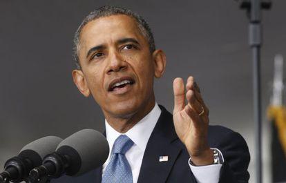 Barack Obama, durante seu discurso na academia de West Point.