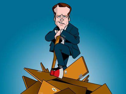 A ambiguidade política de Macron molda seu caminho na eleição francesa