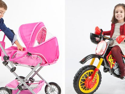 Imagens do catálogo de brinquedos da Toy Planet.