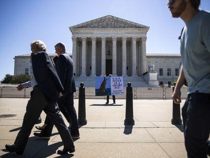A Suprema Corte dos EUA, nesta quinta-feira.