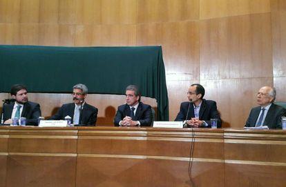 CPI da Petrobras ouve depoimentos de executivos da Odebrecht, em Curitiba, em setembro de 2015.