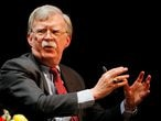 Former U.S. national security advisor John Bolton speaks during his lecture at Duke University in Durham, North Carolina, U.S. February 17, 2020.   REUTERS/Jonathan Drake