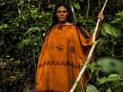 Ruth Buendía, ambientalista peruana de 37 anos.