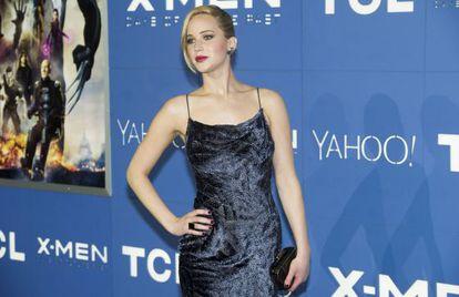 A atriz Jennifer Lawrence em uma foto de maio.