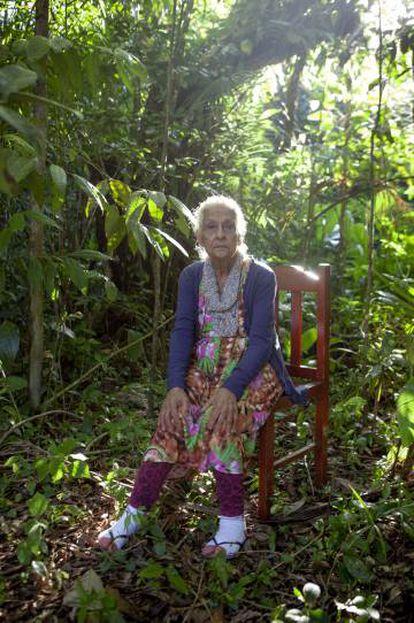 Nancy Prado é a matriarca dos caiçaras que vivem na região do Rio Verde. (Foto: Maurício Pisani)