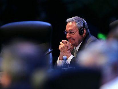 O presidente de Cuba, Raúl Castro.