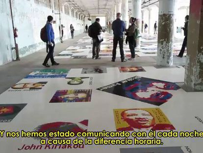 Ai Weiwei se tranca em Alcatraz