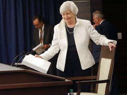 Janet Yellen, presidenta da Reserva Federal
