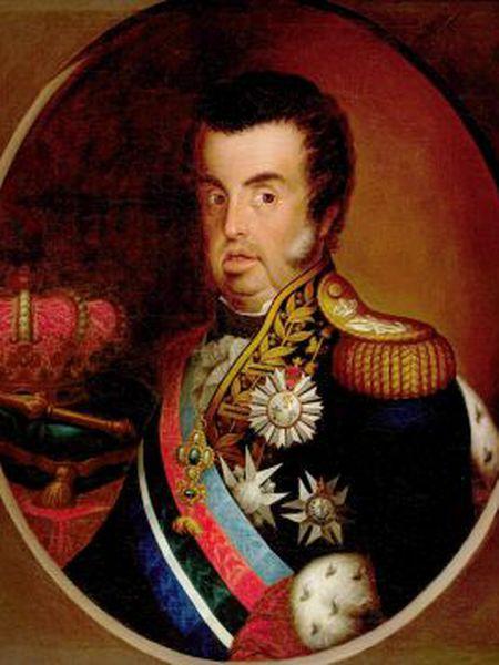 D. João VI, c. 1820, por Simplício de Sá.