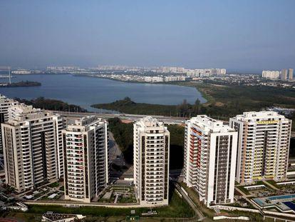 Vista geral da Vila Olímpica, na Barra de Tijuca.