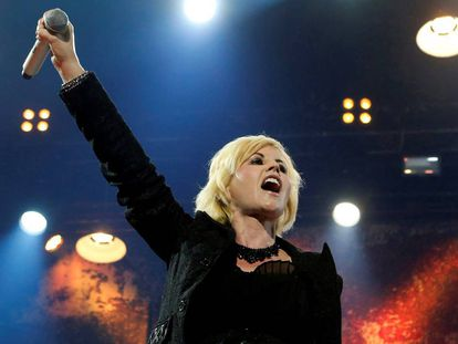 Dolores O'Riordan, cantora do The Cranberries
