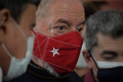 O ex-presidente Lula durante um evento no Memorial da Verdade, em 12 de agosto, em São Paulo.