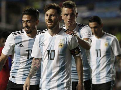 Argentina em amistoso