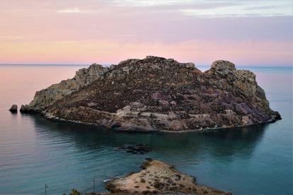 Ilha do Frade, em Águilas (Murcia).