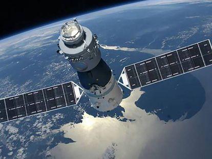 Recriação da Tiangong-1 em órbita