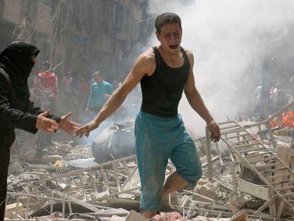 Hospital do Médicos sem Fronteiras bombardeado em Aleppo.