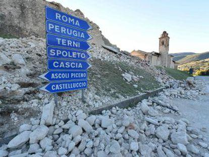 O maior terremoto desde 1980 abala o centro da Itália sem causar vítimas fatais