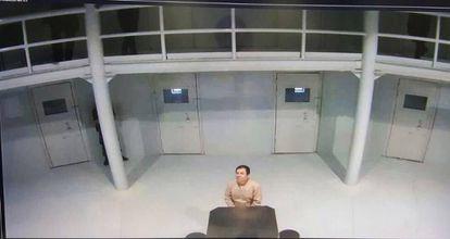 Joaquín Guzmán Loera, 'El Chapo', na prisão de Ciudad Juárez.