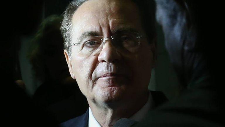Renan Calheiros, em dezembro de 2015.