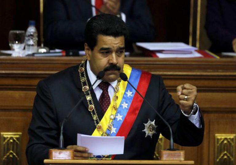 O presidente venezuelano, Nicolás Maduro.