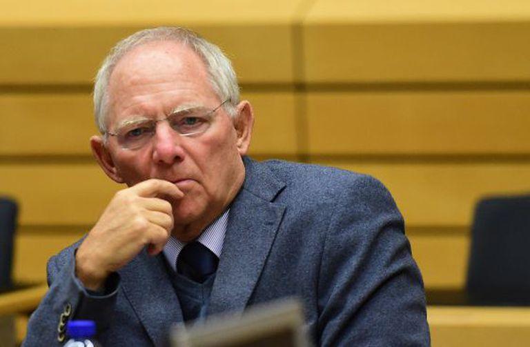 O ministro alemão das Finanças, Wolfgang Schäuble.