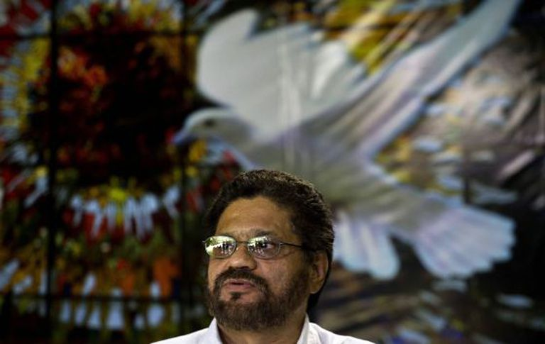 Iván Márquez, negociador-chefe das FARC.