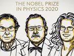 Ganadores del Nobel de Física 2020 NOBEL PRIZE/NIKLAS ELMEHECD 06/10/2020