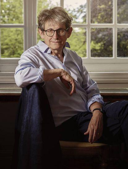 Alan Rusbridger, em seu escritório no Lady Margaret College de Oxford.