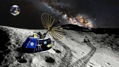 Representação da Moon Express.